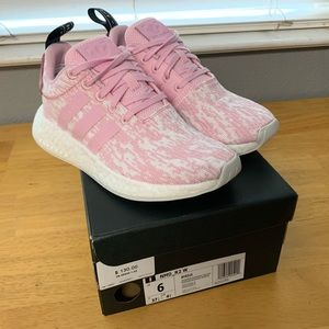NMD R2 Pink Size 6 Womens